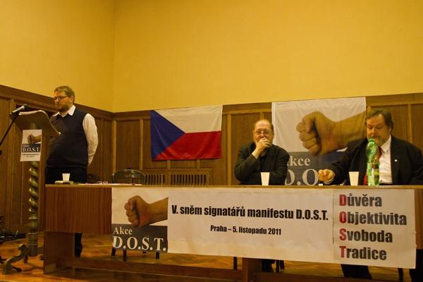 V. Sněm signatářů Manifestu D.O.S.T. – 7.11.2011