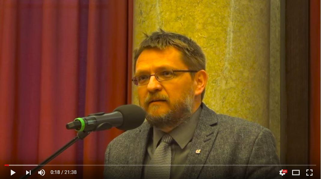 Michal Semín o emigraci na semináři Institutu Václava Klause