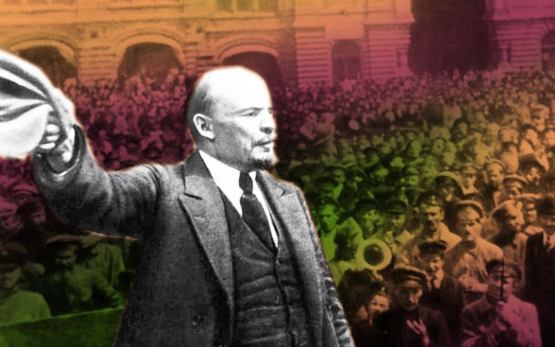 Bolševická revoluce vRusku byla první barevnou revolucí 20.století