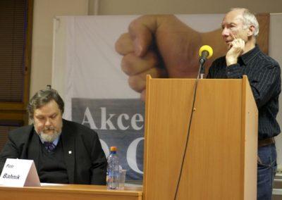 Se svým příspěvkem vystoupil i kancléř Konzervativní strany Martin Rejman