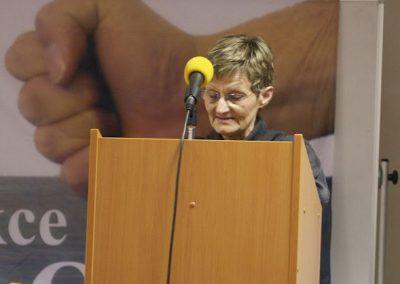 Paní doktorka Jindřiška Fikarová oslovila k závěru přítomné především moudrostí a životní zkušeností.