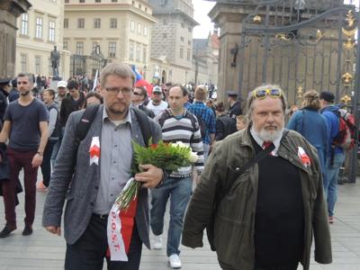 Svatojiřský pochod odhodlaných nepohodlných