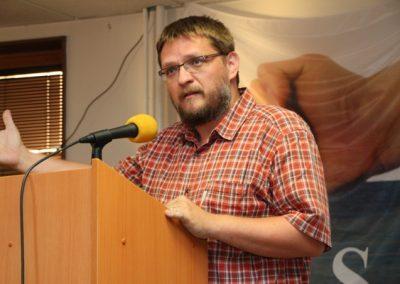 Do diskuse se zapojil i jeden z iniciátorů Manifestu D.O.S.T. Michal Semín