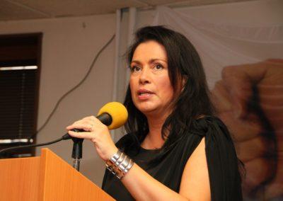 V závěru vystoupila se svým příspěvkem i šéfka Suverenity Jana Bobošíková