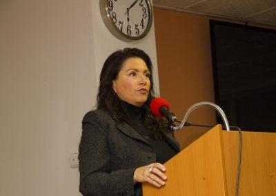 Jako první z panelistů vystoupila se svým příspěvkem předsedkyně Suverenity Jana Bobošíková.