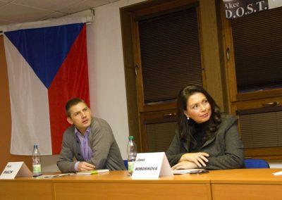 Jana Bobošíková nabídla Petru Machovi společný postup ve volbách.