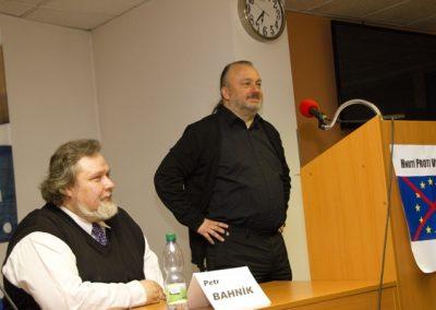 Jako poslední z panelistů vystoupil Ladislav Jakl.