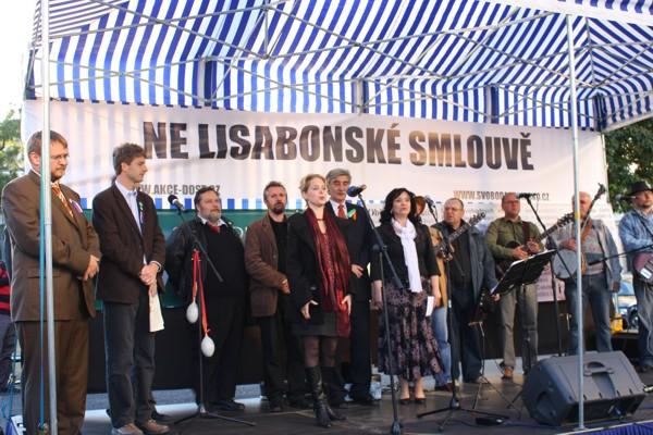 Pochod na hrad – 3.10. 2009