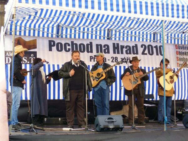 Pochod na Hrad – Praha 28.září 2010