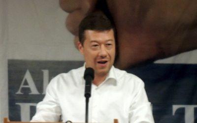 Tomio Okamura poblahopřál k desátému výročí D.O.S.T.