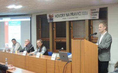 Vystoupení právníka a publicisty Tomáše Břicháčka – Hovory na pravici XXV- 3. 12. 2018
